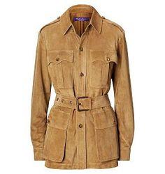 The RL Safari Jacket - Leather & Suede  Coats & Jackets - RalphLauren.com