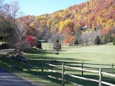 Autumn In the Blue Ridge Mountains. Looks like the Dillard Ga area :). The Blue Ridge Pkwy is also not far, from where we'll take north and west trips out of Dillard.