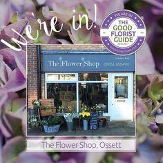 Super exciting news that we're now in The Good Florist Guide. . . . #theflowershopossett #loveossett #floristlife #yorkshireflorist #weddingflorist #wakefieldflorist #goodflorist