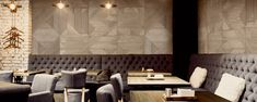 "Finium Konsept - ""Vohg"" (White Oak) wood wall panels"