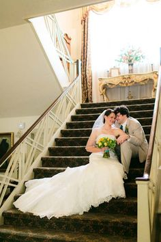 Beautiful photo on the stairs