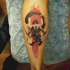 Saamurai tattoo design