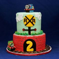 Thomas & Percy cake