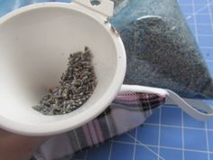 Warm Rice and Dried Lavender for Rested Eyes