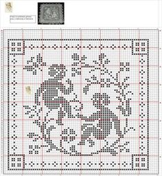 Stitch And Angel, Cross Stitch Angels, Crochet Squares, Filet Crochet, Cross Stitch Embroidery, Diy And Crafts, Cherubs, Angels, Craft
