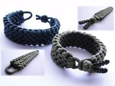 Conquistador Paracord Bracelet Without Buckle by CbyS Paracord and More /Diamond Knot and Loop - YouTube