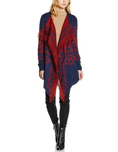 Vero Moda Womens Sui Lia Printed Drapey Cardigan Navy Blazer Pattern Combo Medium >>> Visit the image link more details. Blazer Pattern, Cardigan Pattern, Mode Online, Cute Woman, Elegant, Cardigans For Women, Kimono Top, Prints, Image Link