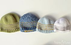striped-beanie-pattern-newborn-infant-baby-toddler-child-adult-extra-large-free by imtopsyturvy.com, via Flickr