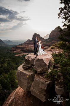 emily + zach | merry go round rock sedona | andrew holman photography | www.heartofsedonaweddings.com #sedonawedding