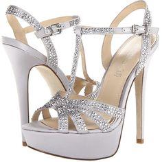 ALDO Aileth ($71) ❤ liked on Polyvore featuring shoes, sandals, heels, high heels, chaussures, silver, platform stilettos, aldo shoes, rhinestone high heel sandals and rhinestone sandals