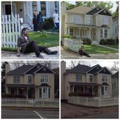 The Walking Dead Filming Locations in Atlanta Ga. From Season 1 Ep.1 Morgan House.