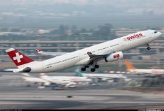 Swiss International Air Lines HB-JHI Airbus A330-343X aircraft picture