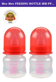 Mee Mee FEEDING BOTTLE MM-FP 2 Red Pack of 2. All Mee Mee Feeding bottles are carefully made to the highest safety standards. All the Feeding bottles are made of food grade material complied with FDA. All parts made from non toxic materials. BPA free - this product does not contain Bisphenol A Meets all ISI norms. Bottles designed to work with babys natural feeding action so baby controls milk flow, similar to breastfeeding. Clinically proven to reduce colic. Before first use, place in...
