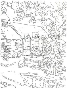 Christmas Chapel I Thomas Kinkade Painting Coloring Book on NEO Coloring Pages 8829 Abstract Coloring Pages, Fall Coloring Pages, Alphabet Coloring Pages, Animal Coloring Pages, Coloring Books, Fairy Coloring, Mandala Coloring, Free Coloring, Colouring