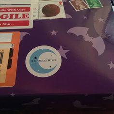 Oooooh my spooky box has arrived...  #spookyboxclub #goth #witch #goodies