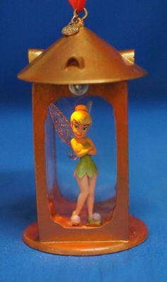 Tinker Bell Light-Up Lantern Resin Christmas Ornament 2014 Disney Store #DisneyStore #ChristmasOrnament