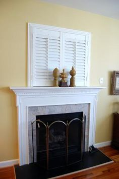 Solution for that Hole Above the Fireplace