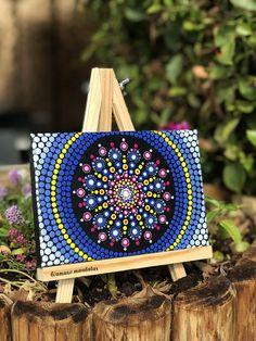 Canvas Mandala Easel