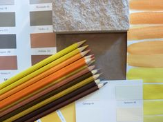 Farben des Elementes Erde