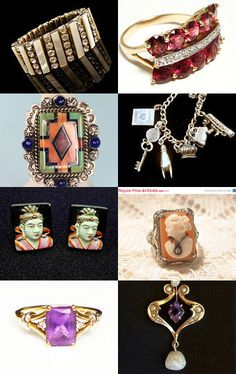 KEEPSAKE Jewelry - A GVS Team Treasury by Rick Rogers on Etsy--Pinned with TreasuryPin.com