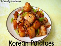 Easy Korean Potatoes Side Dish Recipe Video by TheSquishyMonster | iFood.tv