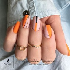Nail Art Designs In Every Color And Style – Your Beautiful Nails Diy Nails, Swag Nails, Grunge Nails, Manicure E Pedicure, Glitter Manicure, Minimalist Nails, Best Acrylic Nails, Painted Acrylic Nails, Dream Nails