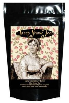 """""""Tea bags - the literary collection"""" (To accompany your favorite book.  LOL!)"""