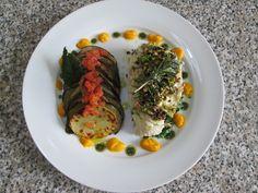1  Orata   tra   verdure   frutta  secca  e  salse  varie   Gino D'Aquino