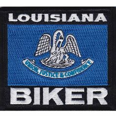 "Kentucky Rocker Patch State of Kentucky MC Biker Embroidered 4/"" Iron On FAST SHP"