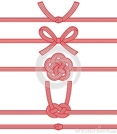 Mizuhiki : decorative Japanese cord made from twisted paper.
