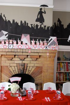 Have a Jolly Holiday with Mary! Check out this Marry Poppins themed party.