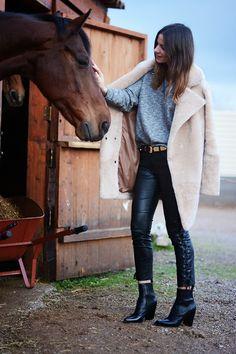 incredible fur coat <3