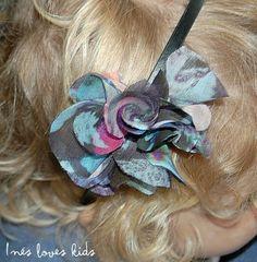 Diadema Negra Flor de Inesloveskids.com Band, Accessories, Fashion, Flower, Head Bands, Black, Moda, Sash, Fashion Styles