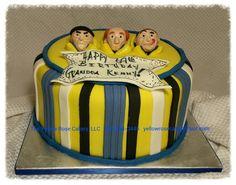 All edible 3 stooges cake.  Www.theyellowrosecakery.com