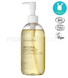 Aromatica Huile Démaquillante Layering Noix de Coco Bio Malilibulle