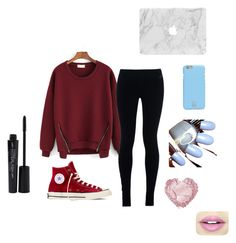 """"""""""" by arbaugh-madison on Polyvore featuring NIKE, Converse, Tory Burch, Fiebiger and Smashbox"""
