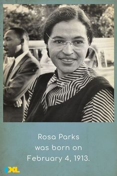She was 42 years old when she refused to give up her seat, sparking the Montgomery Bus Boycott. #OnThisDay #TBT