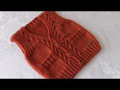 Erkek bebek yeleği yapılışı - YouTube Baby Knitting Patterns, Knitted Hats, Winter Hats, Tulum, Youtube, Fashion, Moda, Fashion Styles, Fashion Illustrations