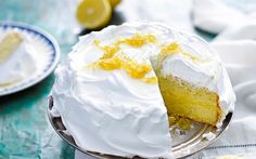 LEMON MERINGUE CAKE OMG