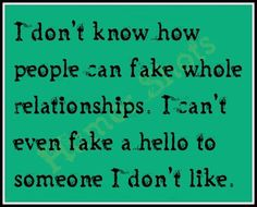 Every relationship he has had and is still having is fake. How can it be real when he's got at least 2 on the go?
