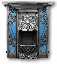 The Toulouse Complete Cast Iron Fireplace