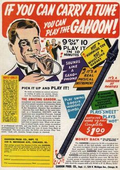 """The """"Gahoon"""" appeared in a lot of comic books.  I'm not sure if it ever really existed or not."""