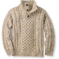 irish fisherman sweater - Bing Images