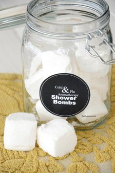 Aromatherapy and Cold & Flu Shower Bombs   The Idea Room