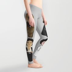 Kokeshi Star Wars leggings now at Society 6