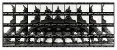 Shooting Film: Eiffel Tower Turns into Contact Sheet Arts