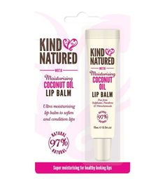 View Kind Natured Moisturising Coconut Oil Lip Balm Collect 4 Advantage Card Points for every Pound you spend. Manuka Honey, Beautiful Lips, Lip Care, Coconut Oil, The Balm, Moisturizer, Conditioner, Free Delivery, Beauty