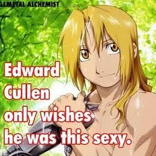 Ant got nuthin' on Ed Elric!!