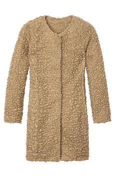 The Bazaar: Neutral Ground  - Calvin Klein coat