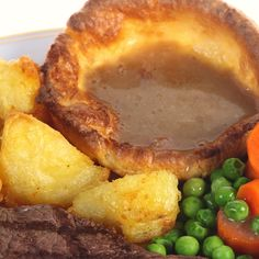 Make the meal extra special! Have this Yorkshire Pudding recipe on hand to prepare with your roast beef and gravy dinner.